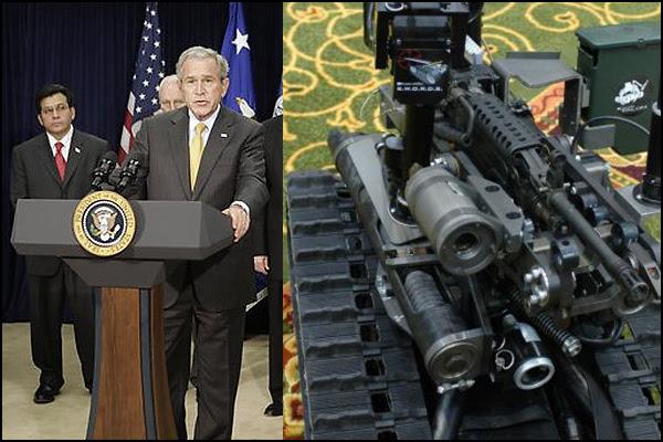 George Bush, Killer Robot