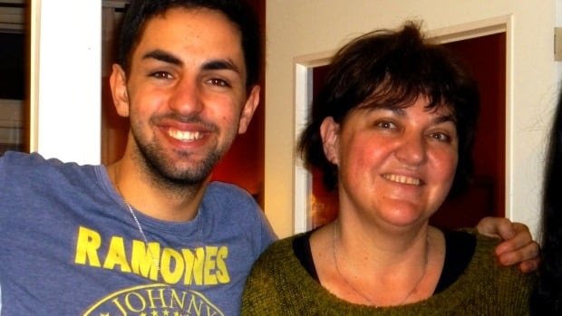 Jonathan Vaknine and his mother Sofia Lunderquist
