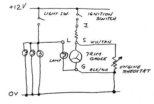 31 boat trim gauge wiring diagram - diagram example database  diagram example database