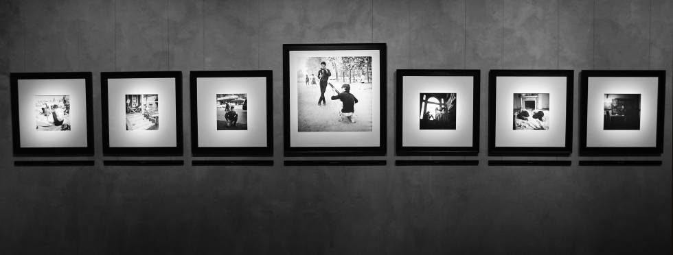 Exposición 'The Beats and The Vanities', de Larry Fink , en Milán.