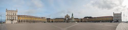Plaza del comercio, panorámica.