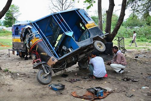 India Uttarakhand Haridwar Auto Rickshaw Pit Stop