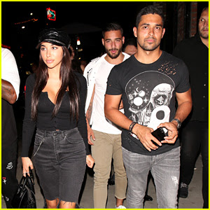 Wilmer Valderrama & Chantel Jeffries Have Night Out at Tao