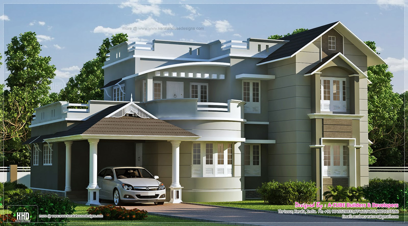 New Home Designs Latest : Modern House Exterior Front ...