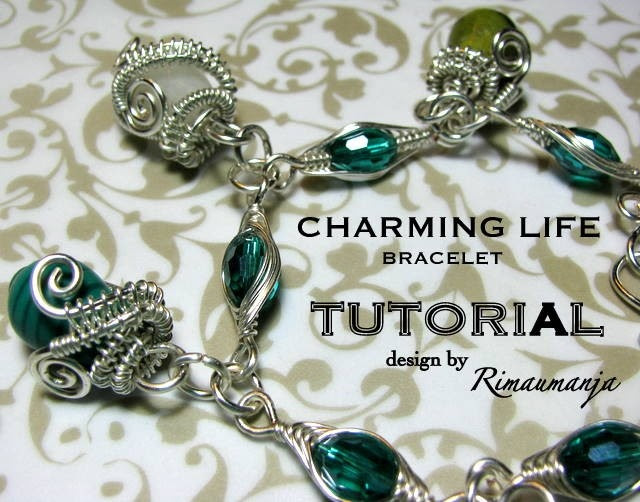 Charming Life Bracelet Tutorial. $8.00, via Etsy.