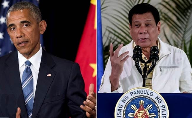 Philippines Scrambles To Soothe Tensions After Insult To Barack Obama