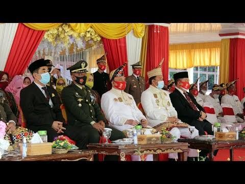 Upacara Peringatan Hari Ulang Tahun Ke-29 Kabupaten Lampung Barat Tahun 2020