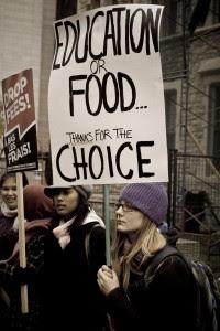 Education protest © Patrick Imbeau | Flickr