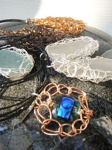 pendants for a street festival