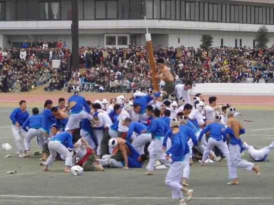 Perierga.gr - Botaoshi, το πιο τρελό αλλά απολαυστικό άθλημα