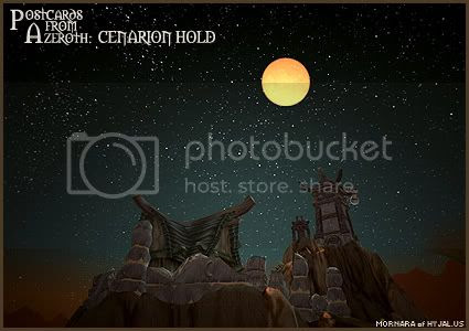 Postcards of Azeroth: Cenarion Hold, submitted by Mornana of Hyjal-US