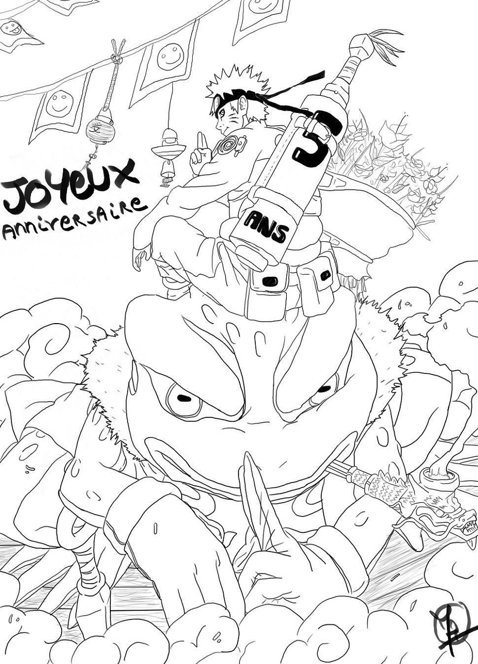 Fanart de Uzumaki Naruto par Hakura