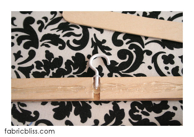 doll hangers -  glue ready