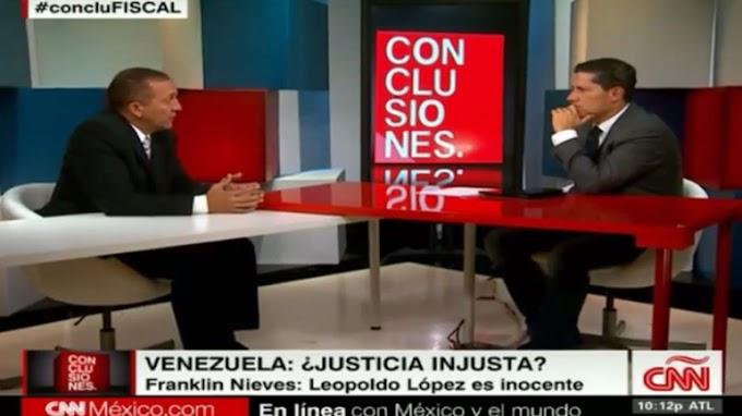 """Franklin Nieves admitió presiones y ratificó: """"Leopoldo López es inocente"""""""