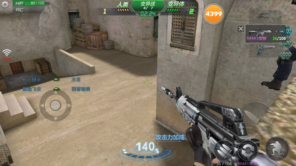 game truy kich mobile moi nhat của trung quoc