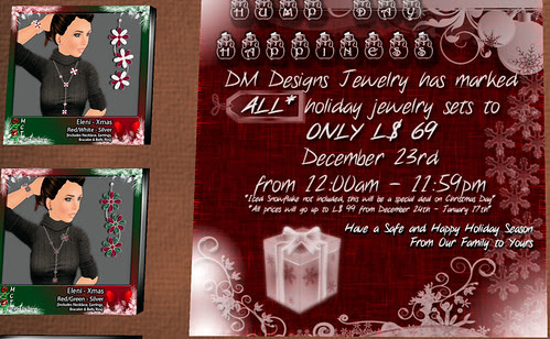 69L Wednesday DM Designs jewelry sets