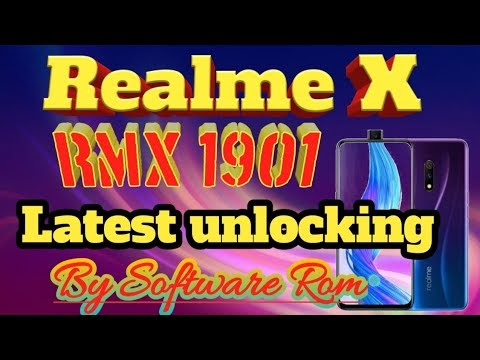 Realme X RMX1901 latest flash file download by softichnic