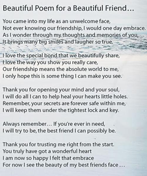 Keep Smiling Images Beautiful Poem For A Beautiful Friend Wallpaper
