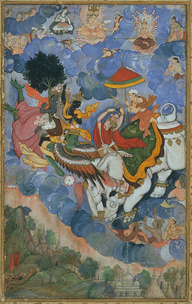 File:Krishna's combat with Indra.jpg