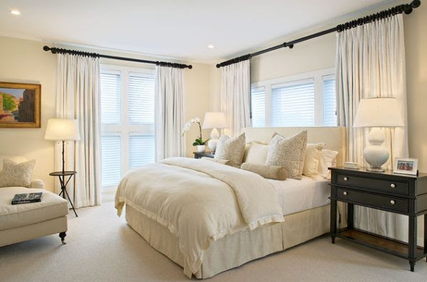 A few decorating ideas for the master bedroom