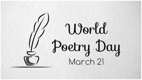peringati hari puisi sedunia tanggal  maret   puisi