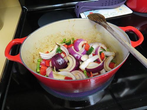 veggies in