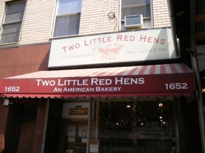 Two Little Red Hens Bakery in Yorkville, NYC