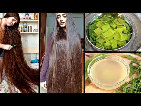 Just Apply This Oil To Your Scalp & Grow Extremely Long Hair
