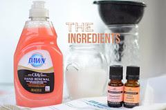 ingredients Sugar Scrub Pink Bath Amy Renea at A nest for All Seasons