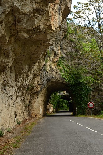 Driving at the Gorges du Tarn