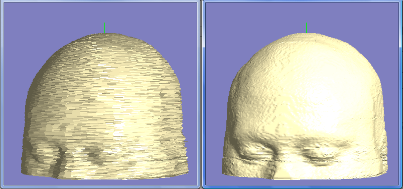 3D-model smoothing