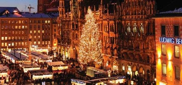 Resultado de imagen de munich marienplatz christmas