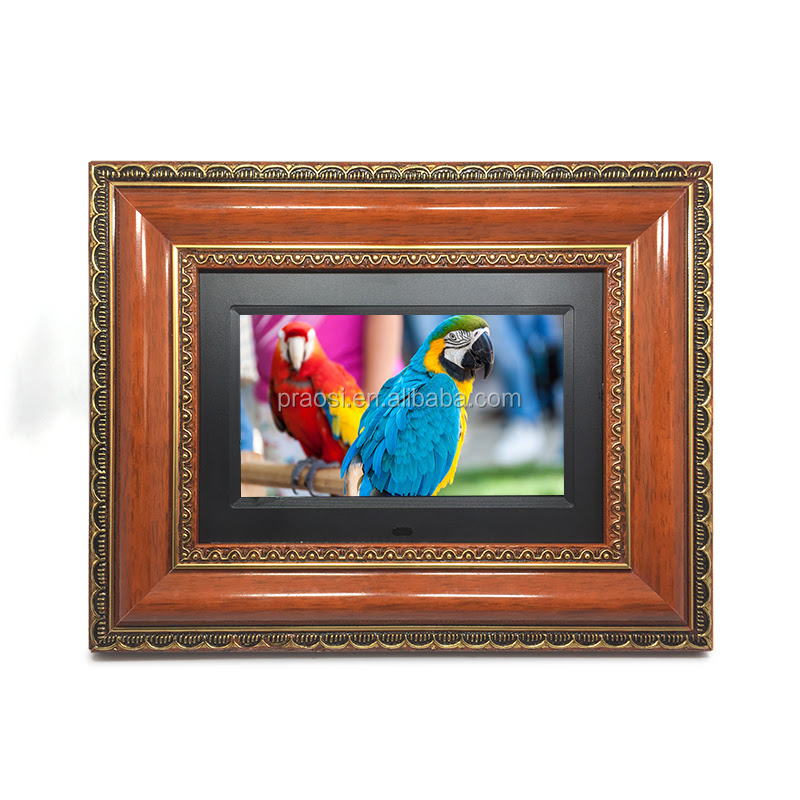 Video Playback Digital Photo Frame Advertising Video Player Lcd