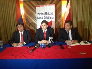 Gerardo Vargas, presidente del PUSC, dio hoy los detalles de la convención de su partido este fin de semana. CRH