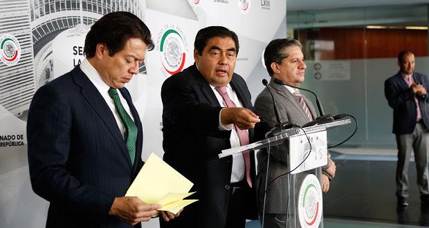 Barbosa propone cambiar reglas para votar nombramientos en Senado