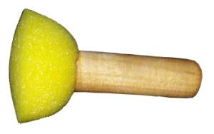 Pennello-tampone da stencil