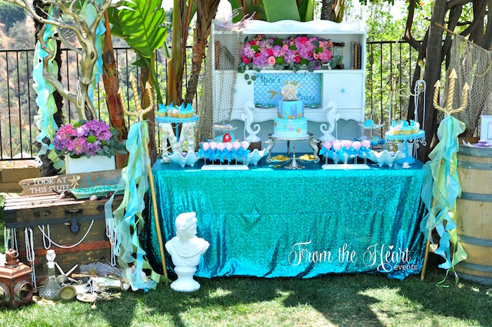Little Mermaid Table And Chairs Lovingheartdesigns