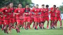 Indosport - Hampir semua pemain senior yang dipertahankan hadir dalam latihan. Hanya Bambang Pamungkas yang belum hadir.