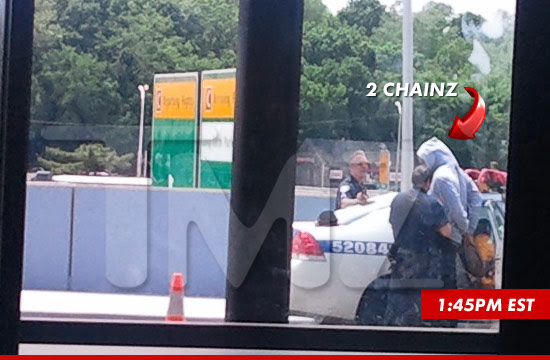 2 Chainz was arrested at LaGuardia Airport in New York today