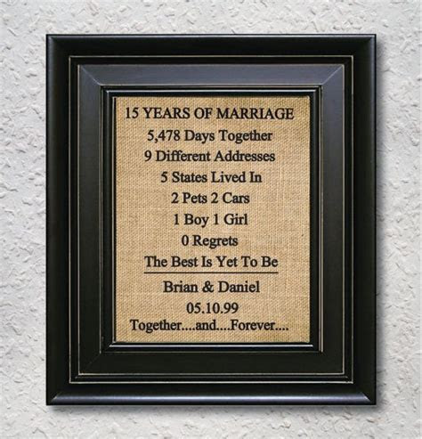15th Wedding Anniversary Gift Ideas For Him 25 Unique 15