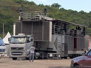 Corpo de Bombeiros Parque de Exposições Juiz de Fora (Foto: Reprodução/TV Integração)