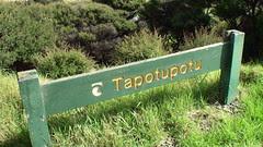 """Tapotupotu"" Sign"