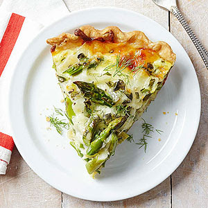 Fennel and Asparagus Pie