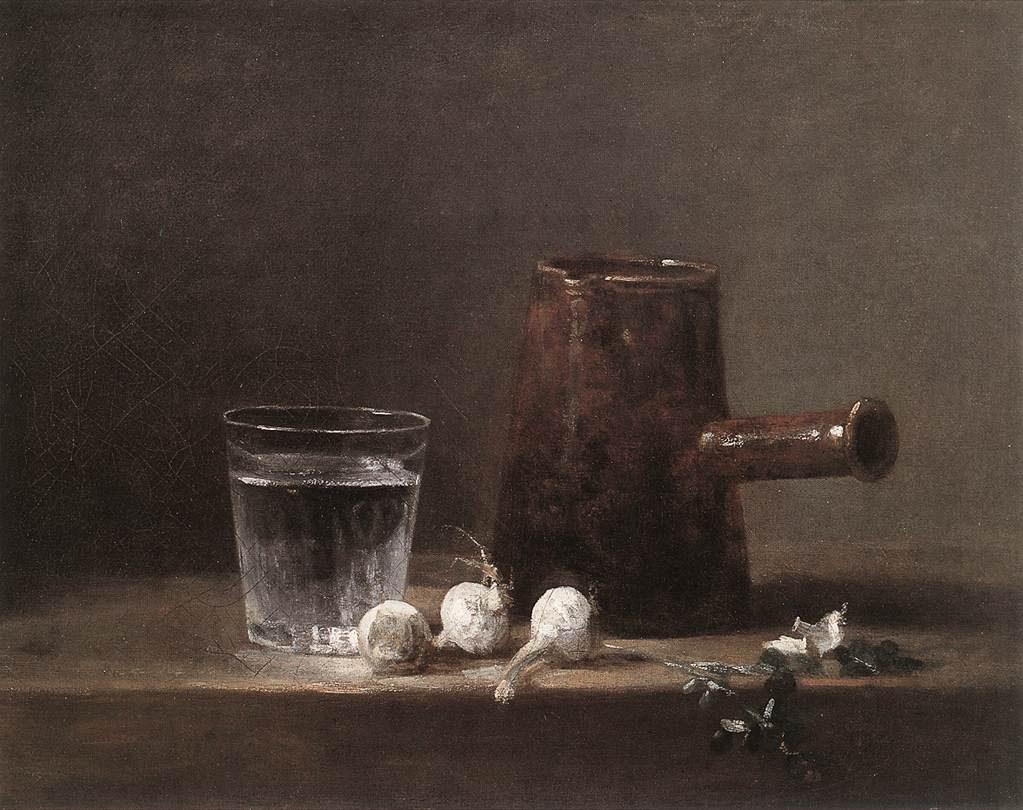 Water Glass & Jug - Jean Baptiste Simeon Chardin