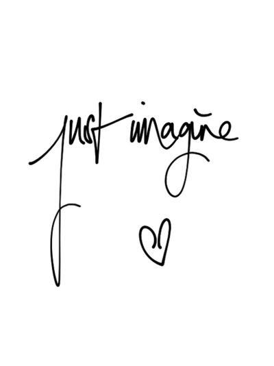 Just imagine... ❥