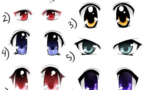 anime eyes color google search draw anime eyes
