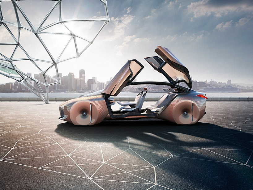 BMW plans for the future through vision next 100 variable autonomy concept