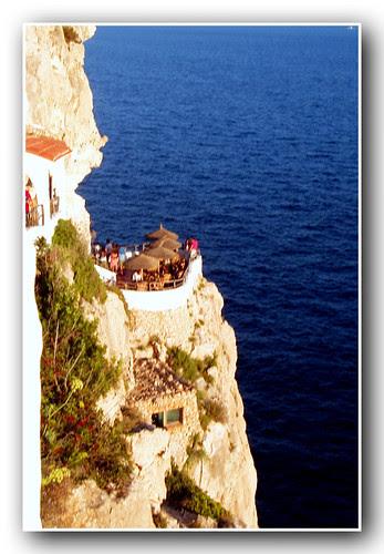 una cerveza en Menorca