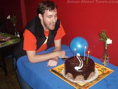 Chandler's Birthday at La Casa Blue