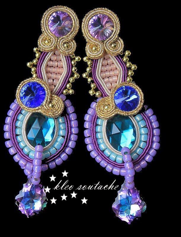 Sutasz Kleo /Soutache jewellery: PORTOROŻ